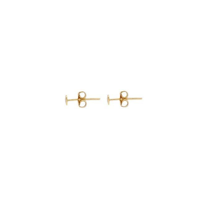 Gouden ALLTHELUCKINTHEWORLD Oorbellen PETITE EARRINGS HEART - large