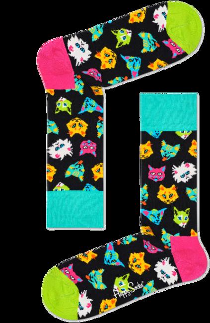 Multi HAPPY SOCKS Sokken FUNNY CAT  - large