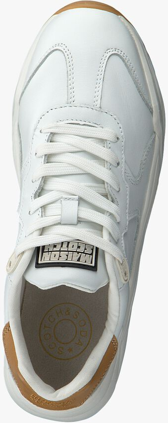 Witte SCOTCH & SODA Lage sneakers CELEST  - larger