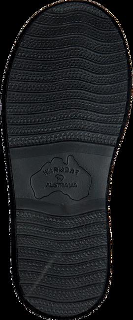 Zwarte WARMBAT Pantoffels WALLABY WOMEN SUEDE - large