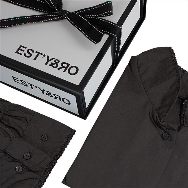 Zwarte EST'Y&RO Kraagje EST'63 - large