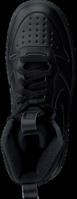 Zwarte NIKE Sneakers COURT BOROUGH MID WINTER KIDS  - large
