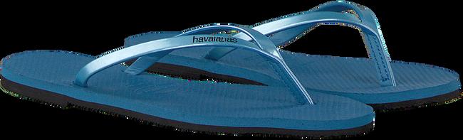 Blauwe HAVAIANAS Slippers YOU METALLIC  - large