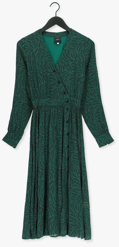 Groene IDANO Maxi jurk BRUNELLA - larger