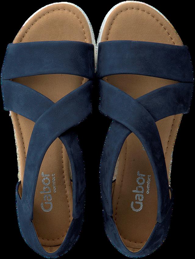 Blauwe GABOR Sandalen 711.1  - larger