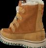 Camel SOREL Enkelboots COZY JOAN  - small