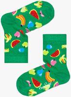 Groene HAPPY SOCKS Sokken KIDS FRUIT  - medium