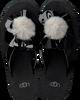 Zwarte UGG Slippers POPPY  - small