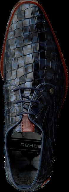 Blauwe REHAB Nette schoenen GREG CROCO  - large