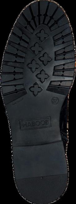 Zwarte HABOOB Enkellaarzen P6708 - large