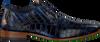 Blauwe REHAB Nette schoenen GREG CROCO  - small