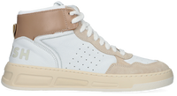 Witte WOMSH Hoge sneaker SUPER  - medium