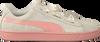 Beige PUMA Sneakers SUEDE HEART JEWEL JR  - small