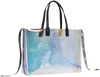 Transparante TOMMY HILFIGER Shopper ICONIC TOMMY TOTE IRRI - small