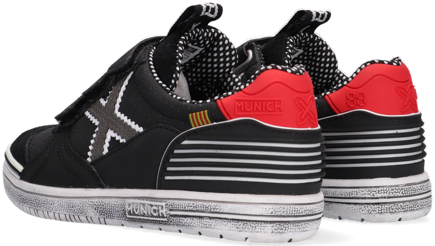 Zwarte MUNICH Lage sneakers G3 VELCRO  - larger