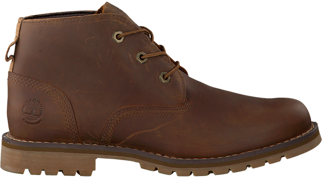 Bruine TIMBERLAND Enkelboots LARCHMONT WP CHUKKA MED  - large