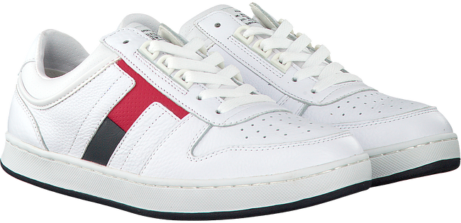 Witte TOMMY HILFIGER Sneakers CORE MATERIAL MIX SNEAKER  - large