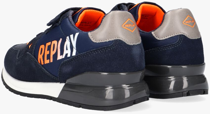 Blauwe REPLAY Lage sneakers COULBY  - larger