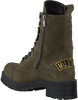 Groene DEABUSED Veterboots 1674  - small
