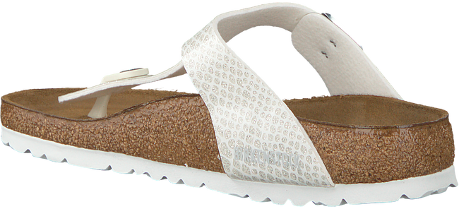 Witte BIRKENSTOCK Slippers GIZEH MAGIC SNAKE - large