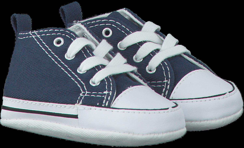 Blauwe CONVERSE Babyschoenen FIRST STAR | Omoda