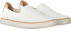 Witte UGG Instappers SAMMY CHEVRON  - small