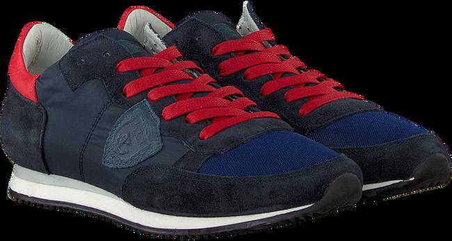 Blauwe PHILIPPE MODEL Sneakers TROPEZ L JUNIOR  - large
