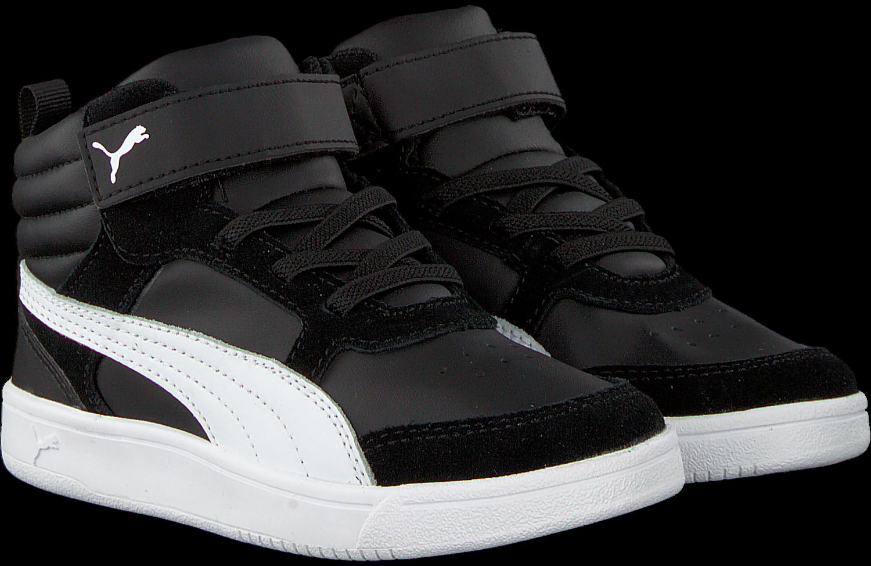 Zwarte PUMA Sneakers PUMA REBOUND STREET V2 PS | Omoda