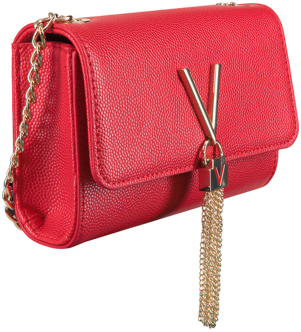 Rode VALENTINO HANDBAGS Schoudertas DIVINA CLUTCH - large