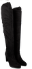 Zwarte OMODA Overknee laarzen K782  - small