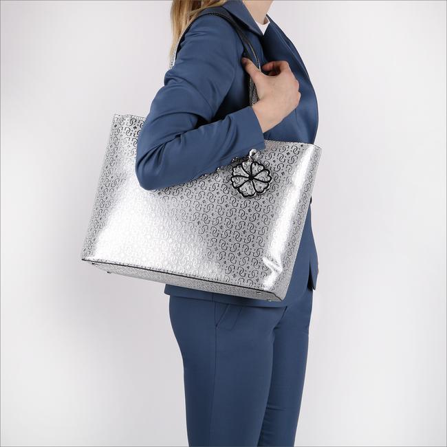 Zilveren GUESS Shopper HWME69 61230 - large