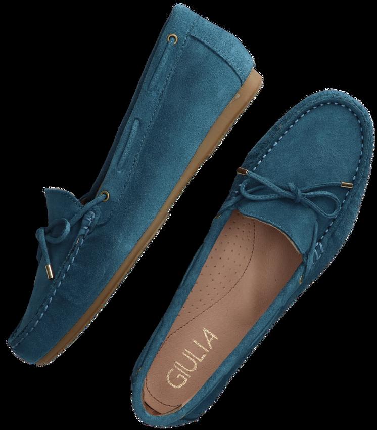 Blauwe GIULIA Mocassins G.1.MOCASSINS  - larger