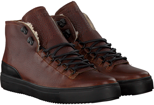 Bruine BLACKSTONE Sneakers OM73  - large