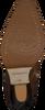 Cognac SHABBIES Enkellaarsjes 193020109  - small