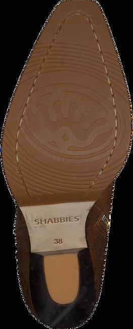 Cognac SHABBIES Enkellaarsjes 193020109  - large