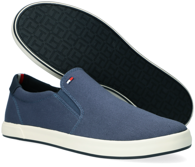 Blauwe TOMMY HILFIGER Lage sneakers ICONIC SLIP ON - large