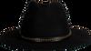 Zwarte ROMANO SHAWLS AMSTERDAM Hoed BORSELINO - small