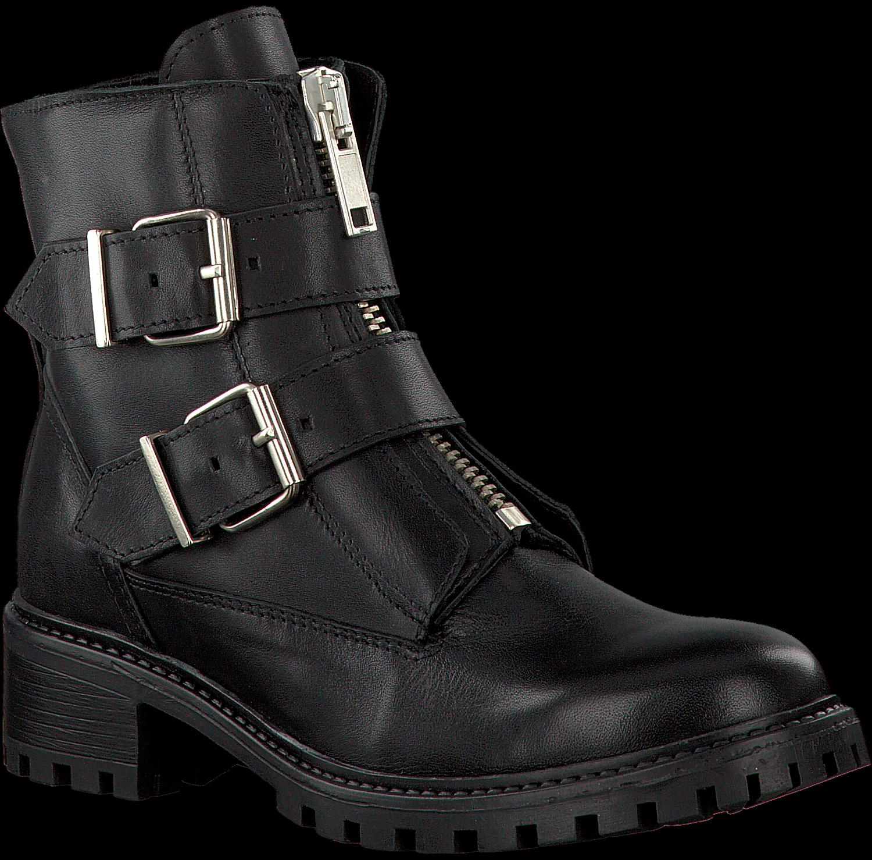 Zwarte BLACKSTONE Biker boots OL24 | Omoda