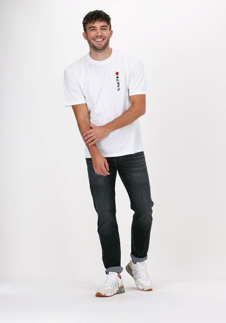 Witte EDWIN T-shirt KAMIFUIJ TSLAC  - large