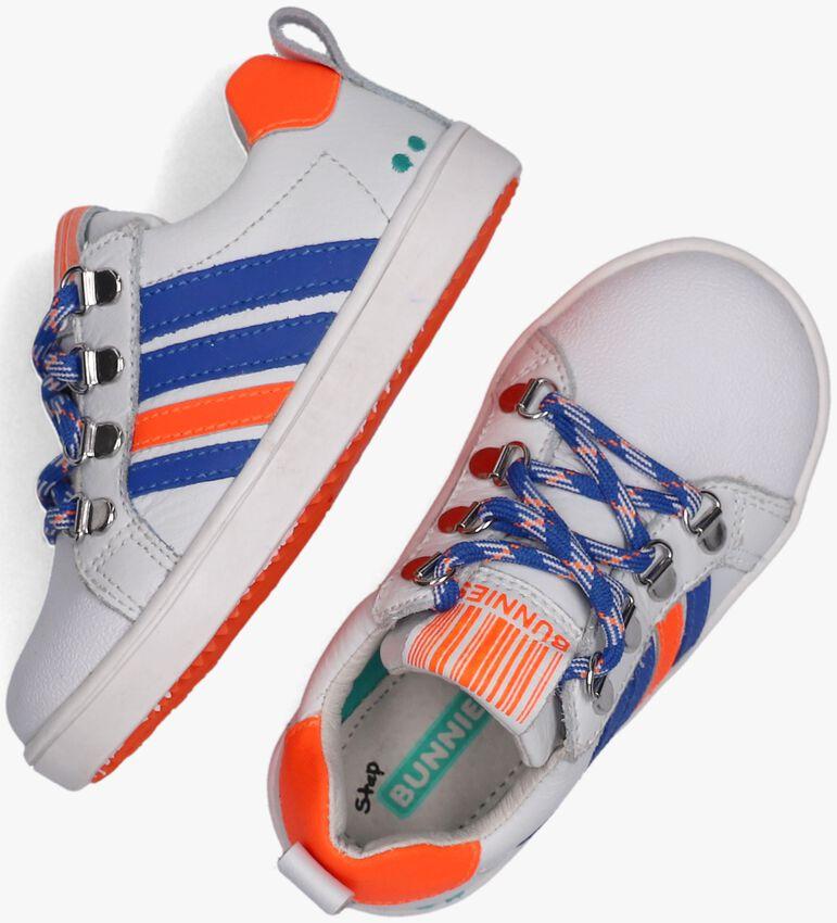 Witte BUNNIES JR Lage sneakers PUK PIT  - larger