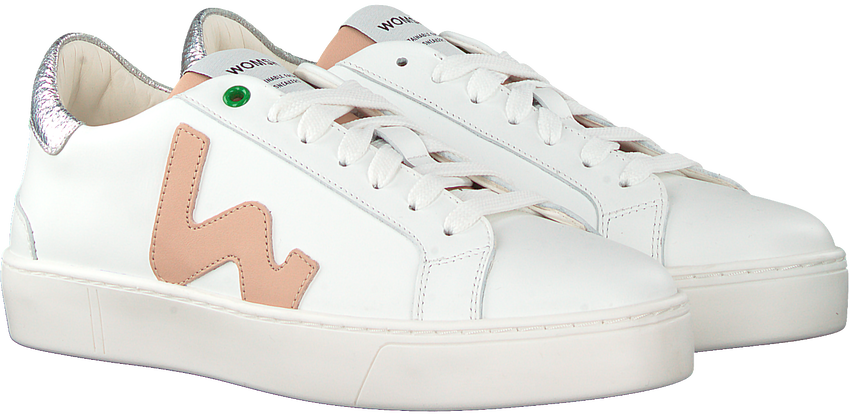 Witte WOMSH Lage sneakers SNIK WMN - larger