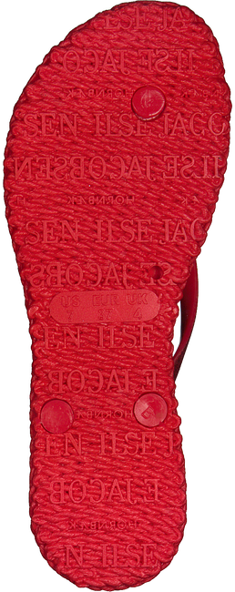 Rode ILSE JACOBSEN Slippers CHEERFUL01 - large