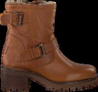 Cognac VERTON Biker boots PARIJS  - medium