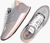 Grijze SUN68 Lage sneakers KATE SHINE  - medium