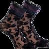 Zwarte MARCMARCS Sokken PIZZO FLOWER  - small