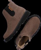 Bruine TON & TON Chelsea boots SIGURD  - medium