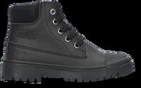Zwarte SHOESME Veterboots SH21W007  - medium