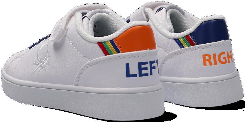 Witte BENETTON Lage sneakers PENN LTX VELCRO  - larger