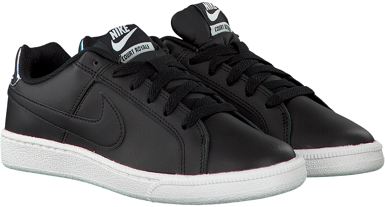 Zwarte Tribunal Nike Chaussures De Sport Wmns Royale o13ML6