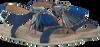 Blauwe OMODA Sandalen KV6375  - small